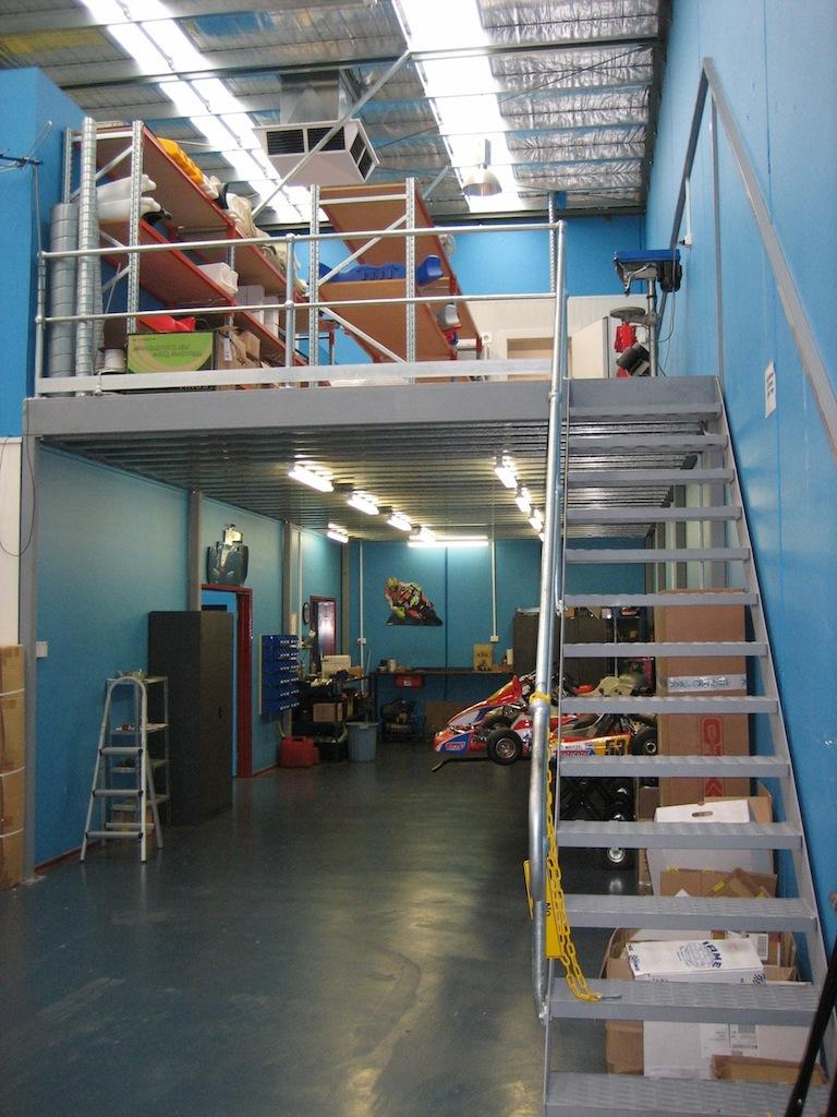 Mezzanine Floors Melbourne Gv Engineering